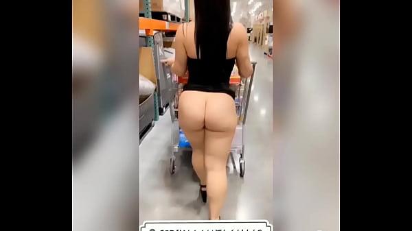 Shopping and Flashing - Jade Jayden