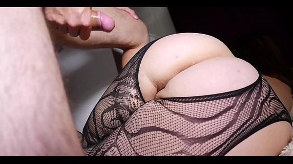 MILF Footjob and Cum Big Ass - Cristall Gloss