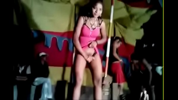 Excellent porn brunette dances nude butt on stage