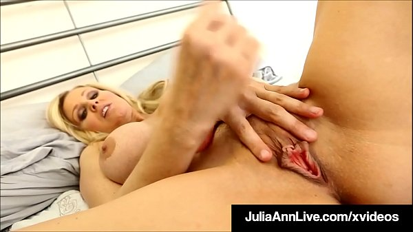 Pussy Pleasing Julia Ann Gets Off For Lucky Die Hard Member