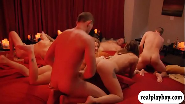 Swingers swap partner and had hot orgy in the m...