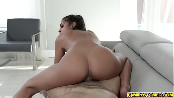 Vienna and step uncle move inside for more hard pussy pounding