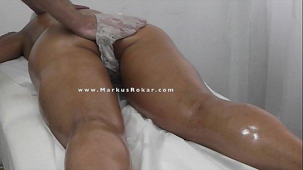 Blonde Milf Flashing & Seduce her Masseur & Finally gets a Pussy Fingering & Orgasm Massage Thumb