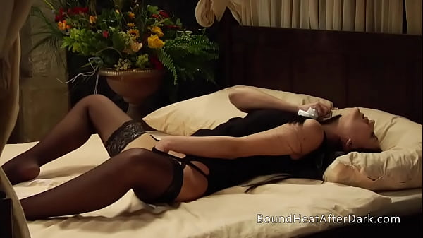Busty Lesbian Maid Can't Keep Hands Off Her Pussy