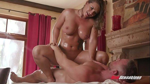 Cali Carter Big Tits Massage and Fuck