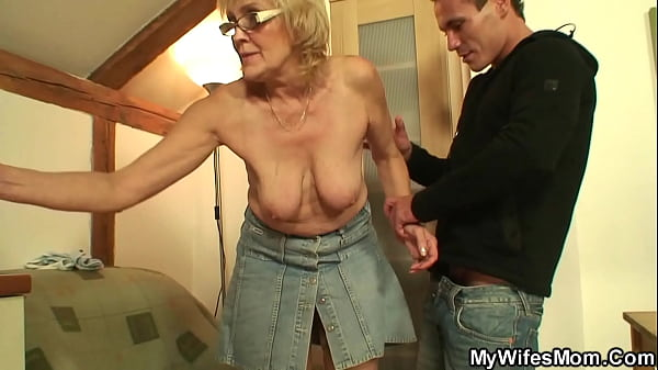 My girlfriends mom is very horny old bitch!