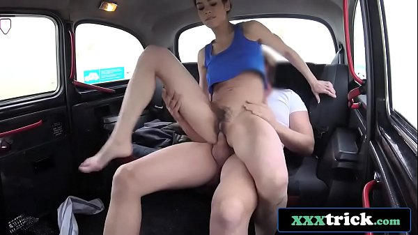 Hairy Russian Pussy Fucked In Czech Taxi - Arwen Gold