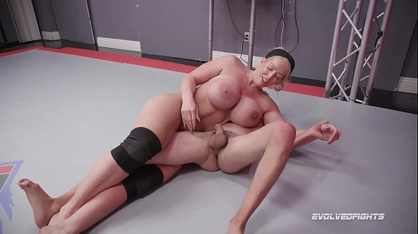 Alura Jenson dominates in mixed nude wrestling ...