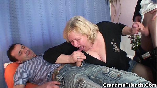 Grandma big boobs