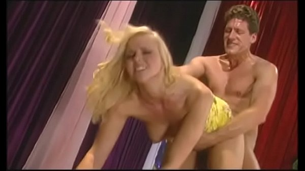Beautiful blonde newbie with big bazookas Hanna...