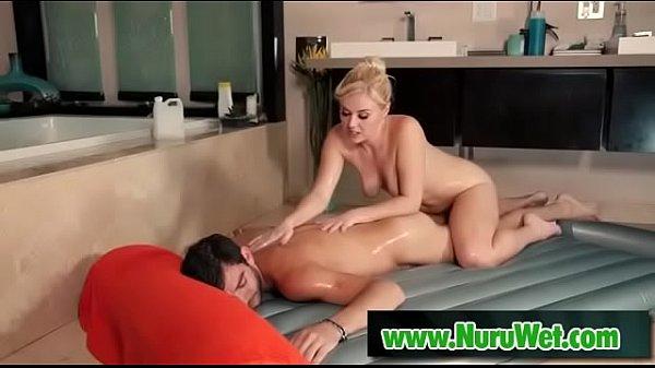 Slippery nuru massage - Logan Long, Summer Day