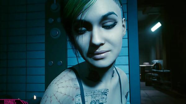 Cyberpunk 2077 Judy Romance Scene Uncensored