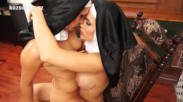 Catholic erotica with two sexy nuns