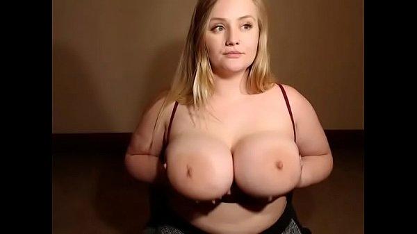 Curvy Blonde Big Tits Solo