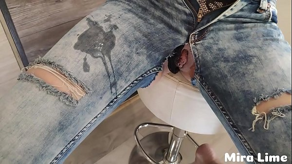 Ripped her jeans and to fuck