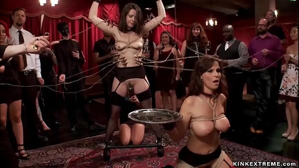Submissive service sluts humiliated