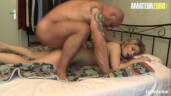 AMATEUR EURO - Amazing Teen Emma Blanc Gets Her Fuck Holes Deep Pounded By Big Cock Daddy