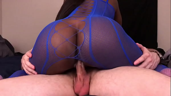 Black Girl Rides White Guys Dick And Gets Cream...
