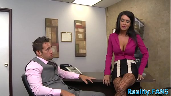 Bigtits stunner pounded at the office by CEO Thumb