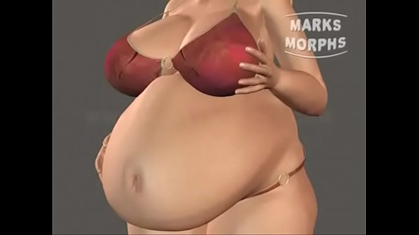 Sexy Breast and belly growth