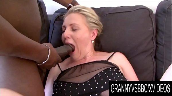 Granny Vs BBC - Older Blonde Nicol Loves Gettin...