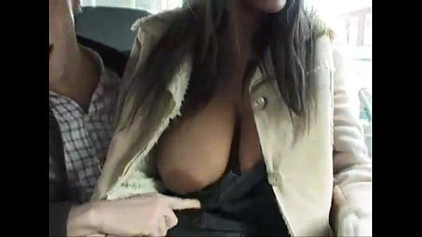 Amanda White Street threesome