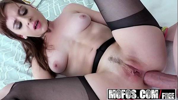 Mofos - Lets Try Anal - Badass Stepsister Tries Anal starring Audrey Holiday