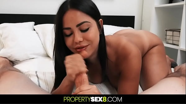 Alina Lopez Has A Crush On Her Landlord Lures Him Into Sex