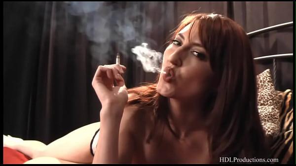 Kendra James - Smoking Fetish at Dragginladies