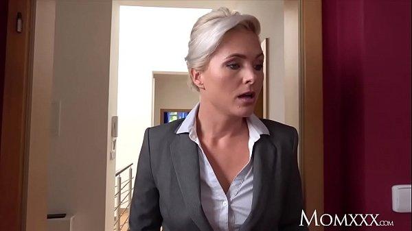 Blonde Milf Fuck Throat