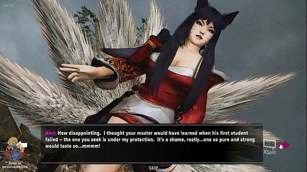 Ahri Huntress of Souls Hentai Game Scenes - League of Legends (Rule 34)
