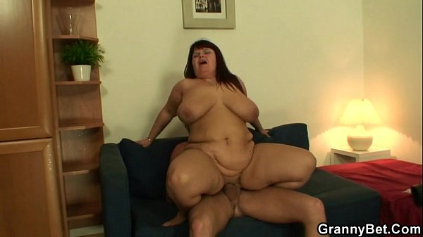Huge titted lady gives head and rides cock