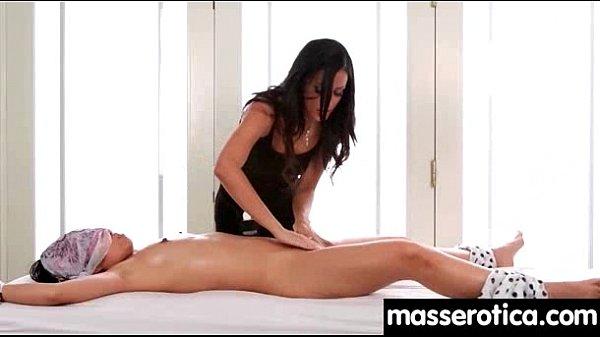 Sensual lesbian massage leads to orgasm 26