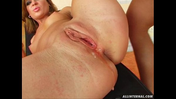 All Internal Honey gets filled with cum and a surprise at the end