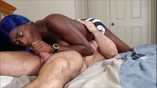 Face sitting blowjob with Paris Love