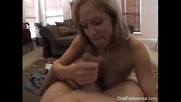 Girl Gives Stranger Blowjob