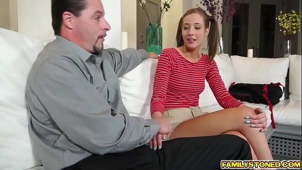 Molly Manson rides step dads big cock on top Thumb