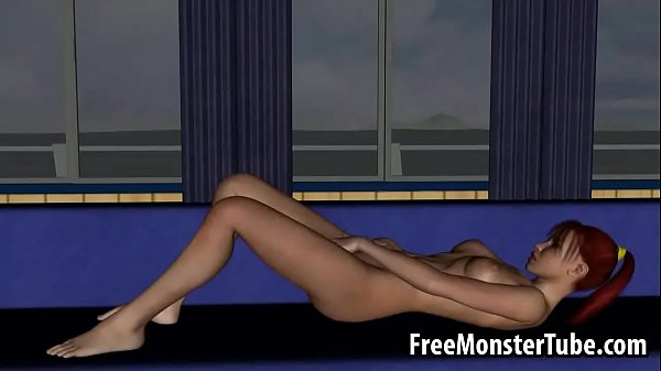 Sexy 3D redhead lesbian babe licking a wet pussy 720-high 2 Thumb