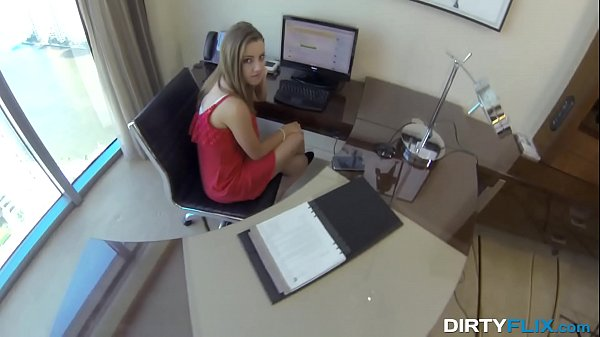 Dirty Flix - Lunch break secretary Lia Ezra fuck Thumb