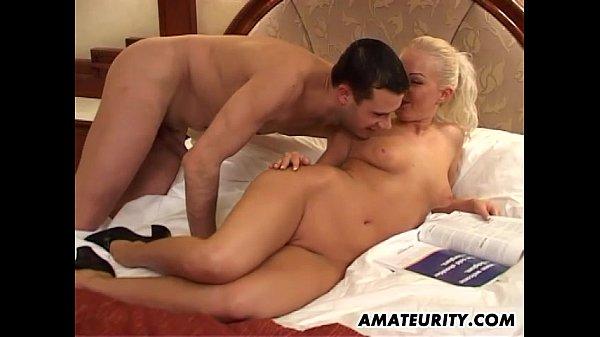 Amateur girlfriend anal with huge facial cumshot