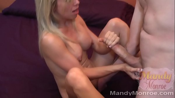 Petite blonde gets creampie from big dick
