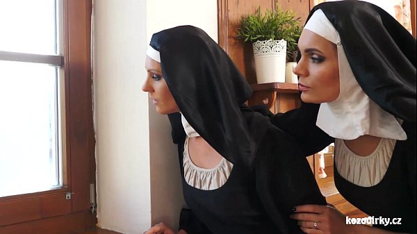 Catholic nuns and the monster! Crazy monster and vaginas! Thumb