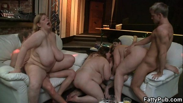 Blonde fatty shows her blowjob and cock riding skills