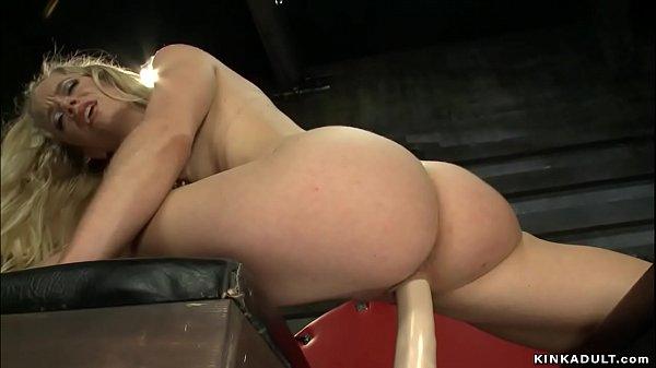 Former gymnast blonde fuck machine Thumb