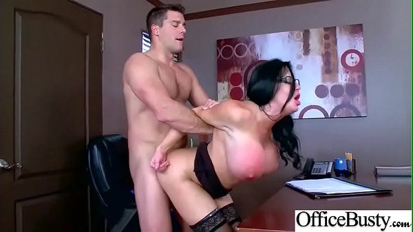 Sex Scene In Office With Hot Busty Superb Girl (Sybil Stallone) video-29