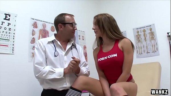 WANKZ- Perfect Amy Brooks Slammed By Two Cocks