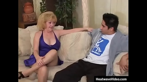 A great looking classic MILF just seduces her stepson