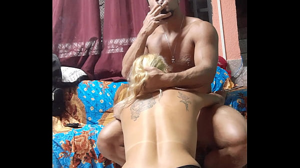Smoking and blowjob