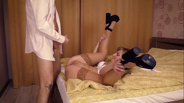 Cuckold Humiliation. A real man fucks me and you eating his sperm