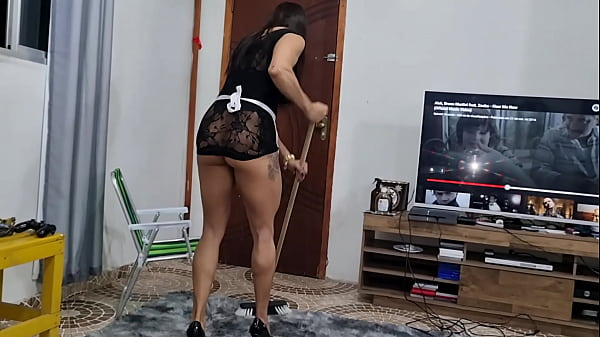 PICKACHU maid is deluded with raise and takes prick in the ass of payment. Alex Lima